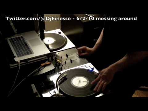 Twitter.com/@DjFinesse - Messing around on the 12's - Dj Finesse NYC