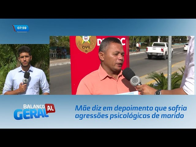 Caso Danilo: Mãe diz em depoimento que sofria agressões psicológicas de marido