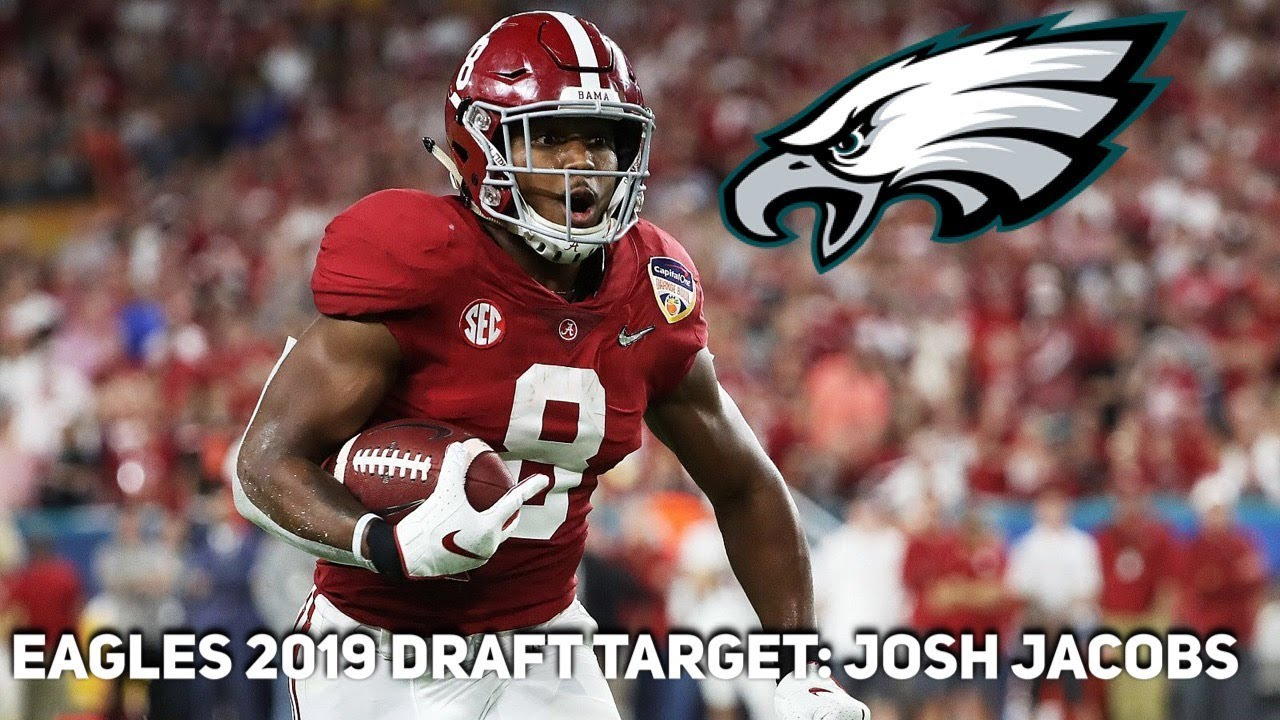 3abed7266ac Eagles 2019 Draft Target  Josh Jacobs - YouTube