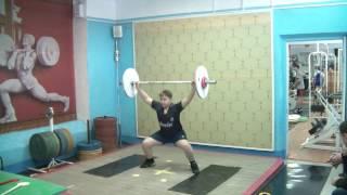 Бикмулин Илья, 11 лет св 70 Рывок 26 кг