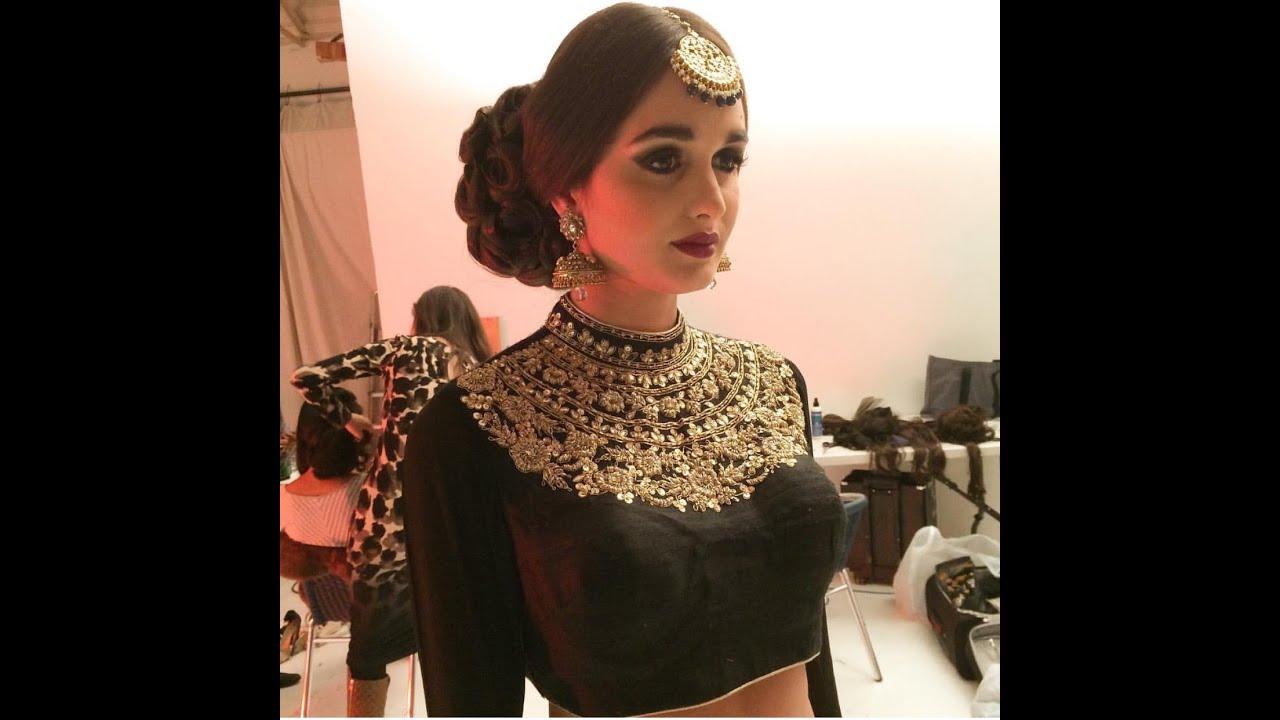 indian bridal juda /pakistani bridal hair tutorial