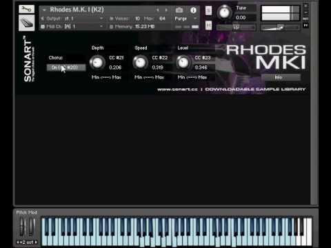 Sonart Audio - Rhodes MKI - KONTAKT