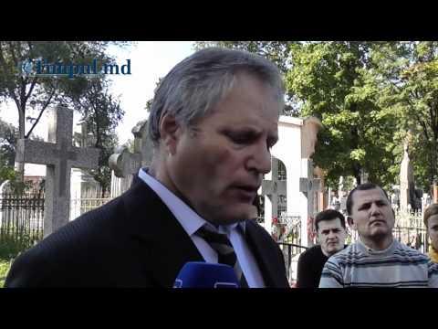 TIMPUL.MD VIDEO: Înmormântarea lui Ion Stratulat