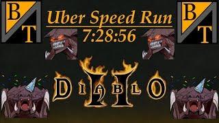 Battle.net 8 man Uber Speedrun! 7:28:56 (Diablo 2)