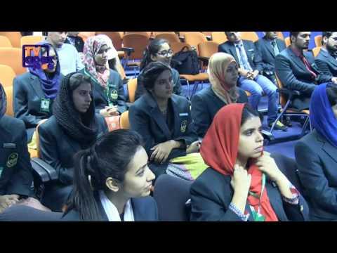 Top position holder Pakistani students visit the Apex Centre