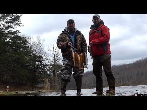 West Virginia Gold Rush, Trout Fishing Teter Creek Lake