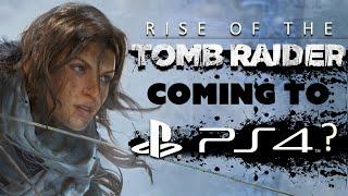 إشاعة Rise of the Tomb Raider قد تأتي للبلايستيشن 4 في 2016
