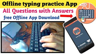Typing practice on mobile phone by using keyboard and mouse, mobile per typing practice kaise karen