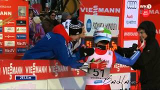New World Record! The Longest skijump ever - Anders Fannemel: 251,5 meters in Vikersund
