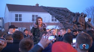 2BAD2LATE - Faith Goldy Speech Shut Down (by Antifa?) at Wilfred Laurier University thumbnail