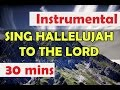 Sing Hallelujah to the Lord, instrumental to pray, Worship