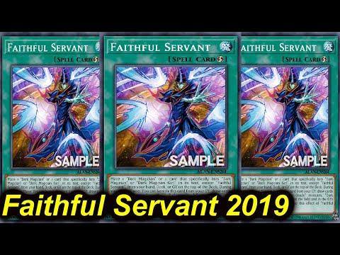【YGOPRO】FAITHFUL SERVANT DECK 2019