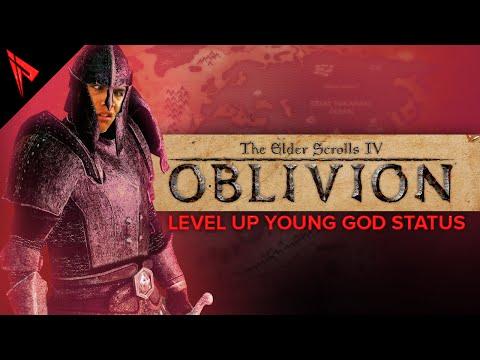 Elder Scrolls Oblivion 3 - LEVEL UP YOUNG GOD STATUS