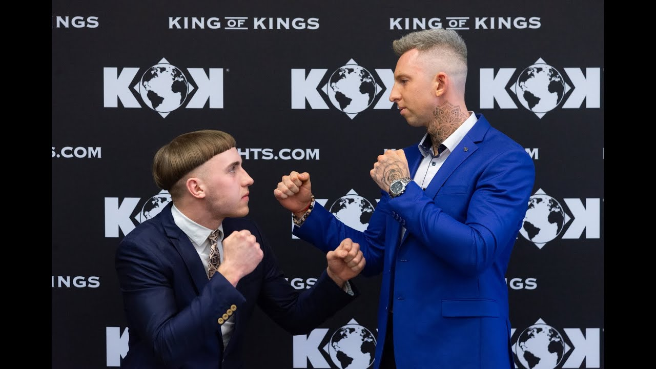 Press Conference - KOK CLASSIC-5 / LIVE on  KOKFIGHTS.TV