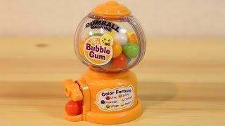 Mini Gumball Machine Bubble Gum