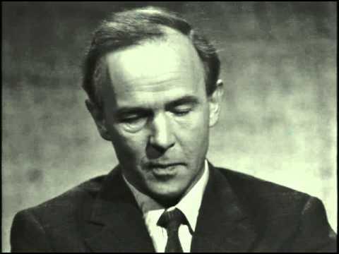 Valet 1968 - CH Hermansson (VPK) frågas ut i SVT