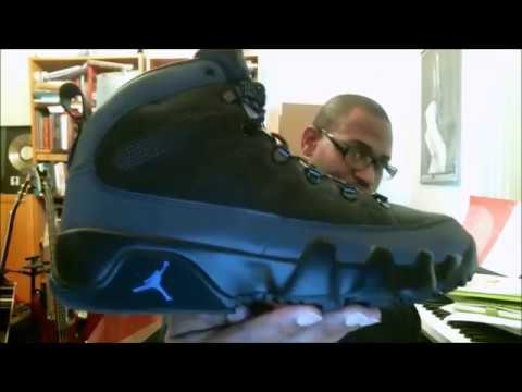 bd272a4f742b89 Air Jordan 9 Retro Boot NRG Black Black-Concord AR4491-001 ...