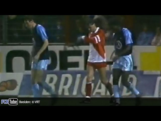 1988-1989 - Champions League - 03. 16de Finale - Club Brugge - AS Monaco 1-0