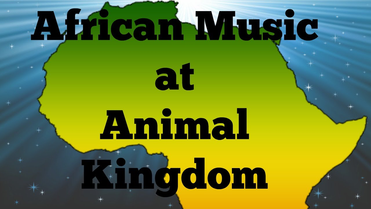 African Music Show at Animal Kingdom 2015