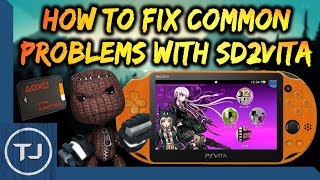 How To Fix Common Problems With SD2Vita!