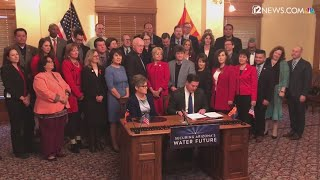 Governor Ducey signs water contingency plan