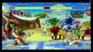 ST (28) - Muteki (Guile) vs. Tsuji (Boxer)