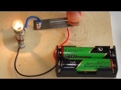 How can ve contruct simple electrical curcuit for school science class.