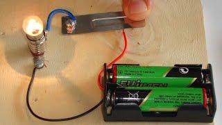Basit elektrik devresi nasıl yaparız.