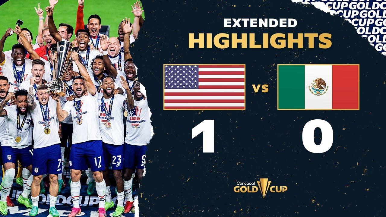 Download Extended Highlights: USA 1-0 Mexico - 2021 Gold Cup Final