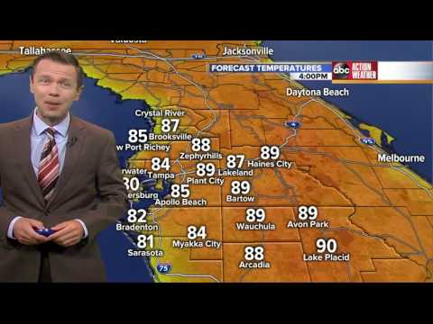 Florida's Most Accurate Forecast with Greg Dee on Thursday, March 30, 2017
