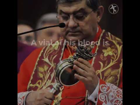 Blood of St. Januarius liquefies on feast day