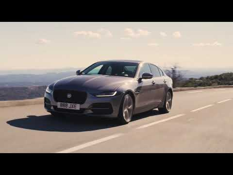 Jaguar XE S 180PS Diesel RWD Eiger Grey Driving in Southern France