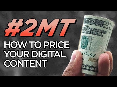 How To Price Your Digital Content | Freelance Video Production, Photography & Art | 2-Minute Tuesday