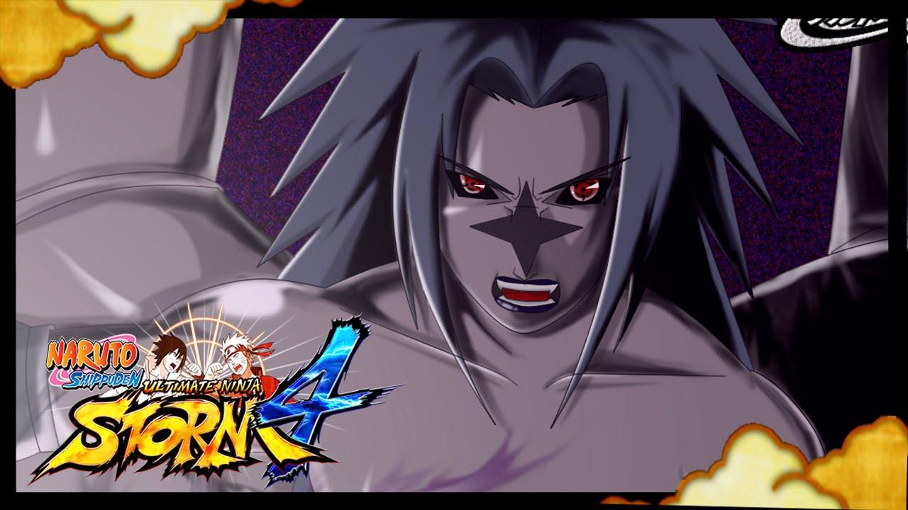 Cursed Seal of Heaven! Sasuke Cursed Mark LV 2 GAMEPLAY - Naruto ...