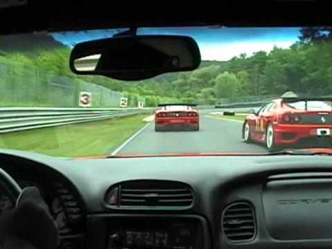 Ferrari 348 Vs C5 Z06 Doovi