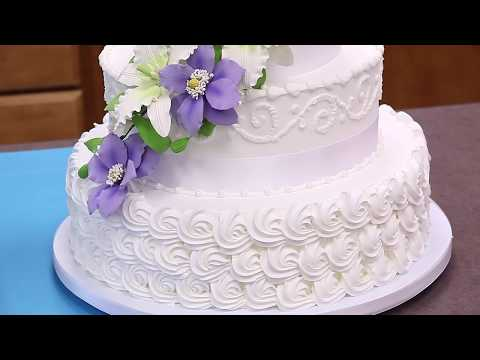 Icing & Assembling a Tiered Buttercream Cake