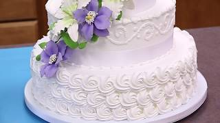 How To Make Your Own Buttercream Wedding Cake | Part 1 | Global Sugar Art