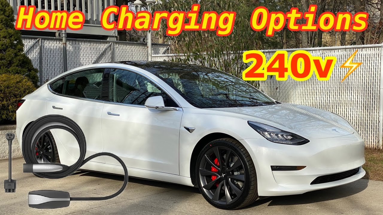 Charging My Tesla Model 3 at Home 🏠 - YouTube