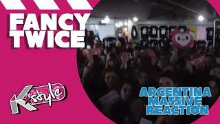 'TWICE 'FANCY' MASSIVE MV REACTION // 트와이스 리액션 아르헨티나'