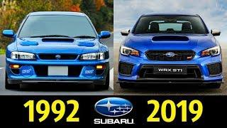 Subaru Impreza - Эволюция (1992 - 2019) !  Обзор !