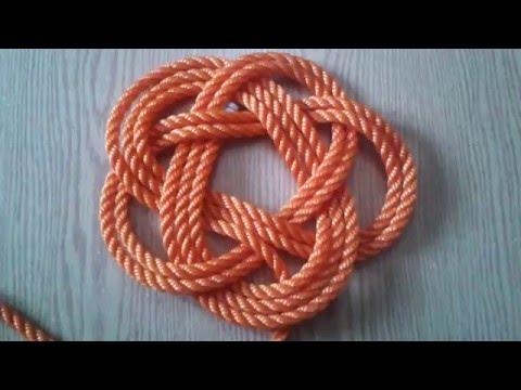 فن الحبال والعقد Marine knot  -كيف تصنع البوليط الخماسي