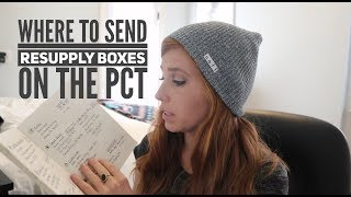Where to Send Resupply Boxes on the PCT