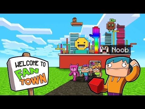 200 Fans Build A Minecraft City In 2 Hours