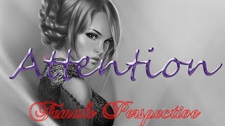 Nightcore - Attention (Female Perspective) - 1 Hour Version [Request]