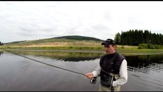 spey casting lessons near glasgow with aapgai instructor andrew toft using a single handed rod