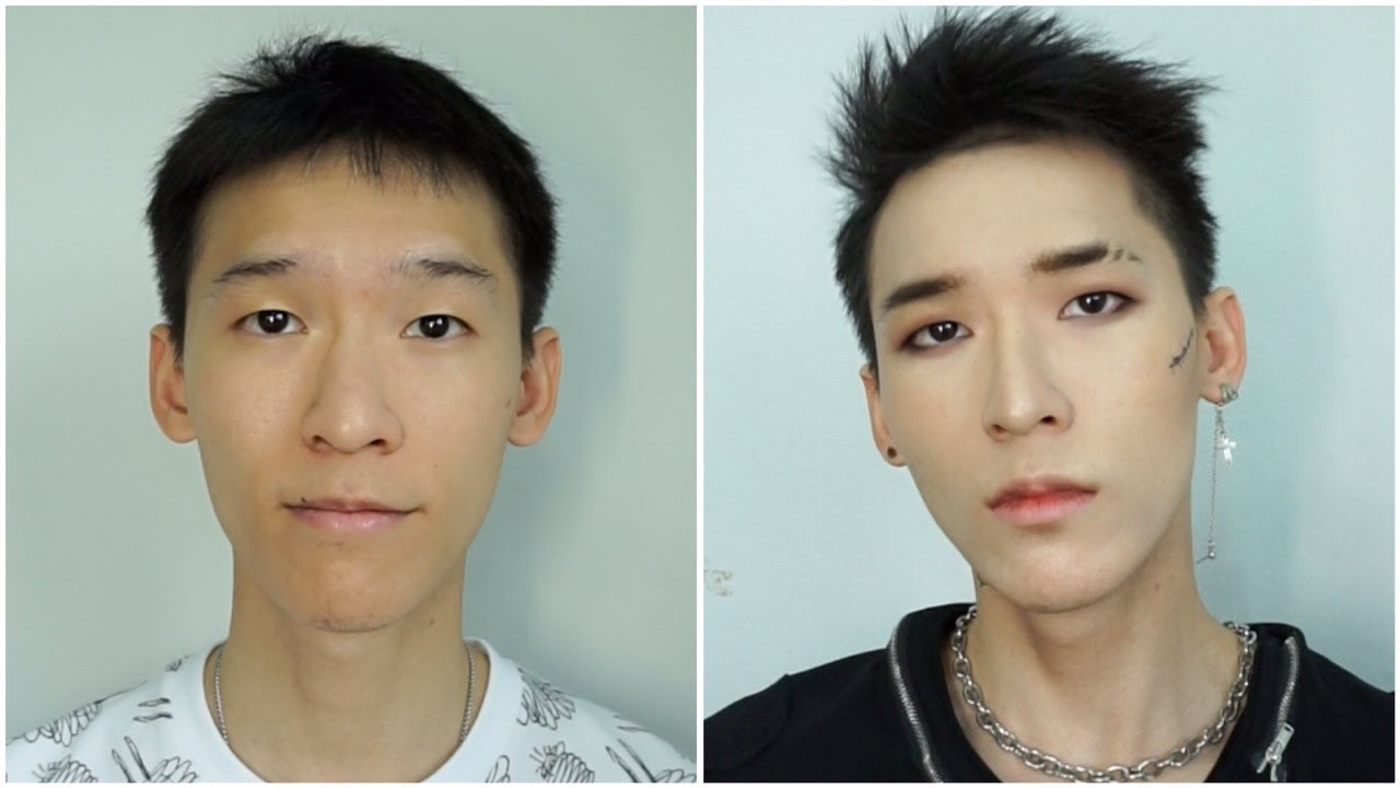 """Kpop Makeup For Guys Kpop """"BAD BOY&quo..."""