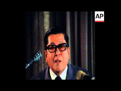SYND 16 10 76 FORMER THAI FOREIGN MINISTER AT PRESS CONFERENCE IN BANGKOK