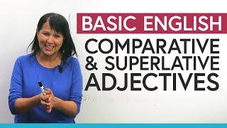 Прилагательные в сравнительной и превосходной степени на английском языке полное руководство