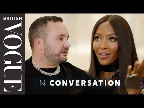 Naomi Campbell Meets Kim Jones | British Vogue