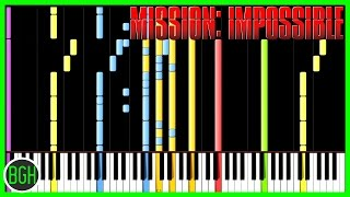 "The main theme from ""Mission Impossible"" Ever wanted to learn to pl..."